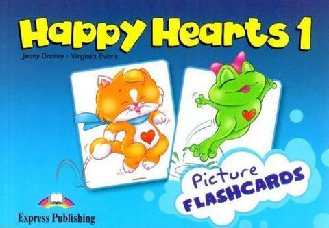Happy Hearts 1. Flashcards. Наглядный материал. (international)