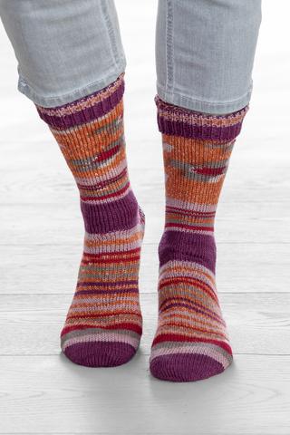 Носочная пряжа Gruendl Hot Socks Simila 403 купить