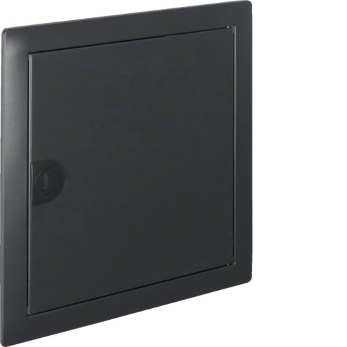 Наружная рамка с дверцей для встраиваемого щитка Volta,1-рядного, RAL7016, антрацит