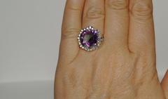 Юдита (кольцо + серьги из серебра)