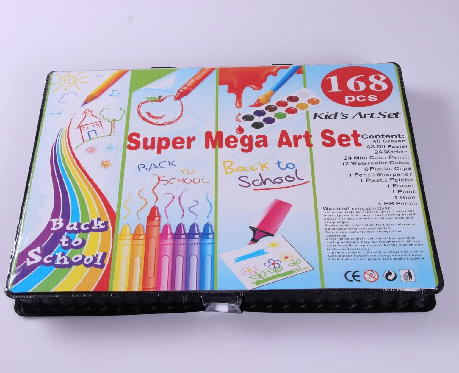 Super Mega Art Set - 168 предметов