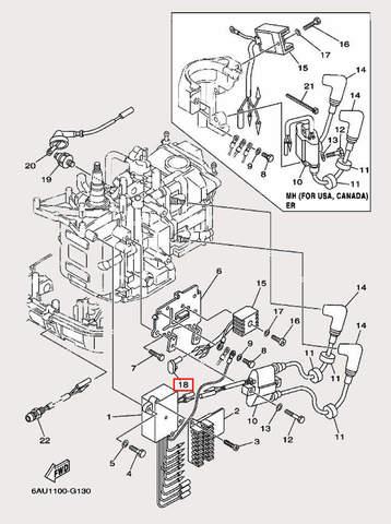 Крышка защитная для лодочного мотора F9,9 Sea-PRO (12-18)