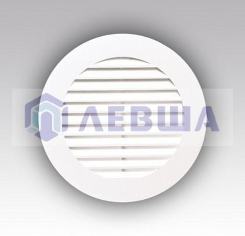 Решетка вытяжная круглая с фланцем ф160 мм