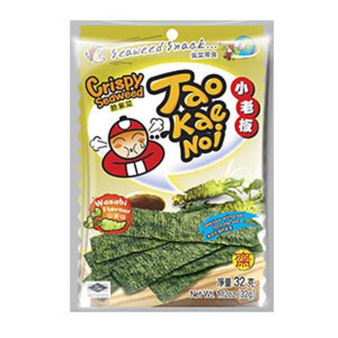 Купить чипсы нори с васаби Tao Kae Noi - цена на чипсы нори с васаби Tao Kae Noi в интернет-магазине Kotelock.ru