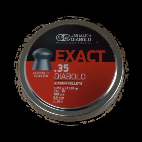 Пульки JSB Exact Diabolo 9 мм (5,20 г, 100 шт.)