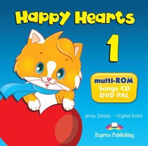 Happy Hearts 1. Multi-Rom Pal. CD с песнями и видео