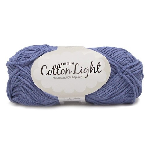 Пряжа Drops Cotton Light 33 сине-сиреневый