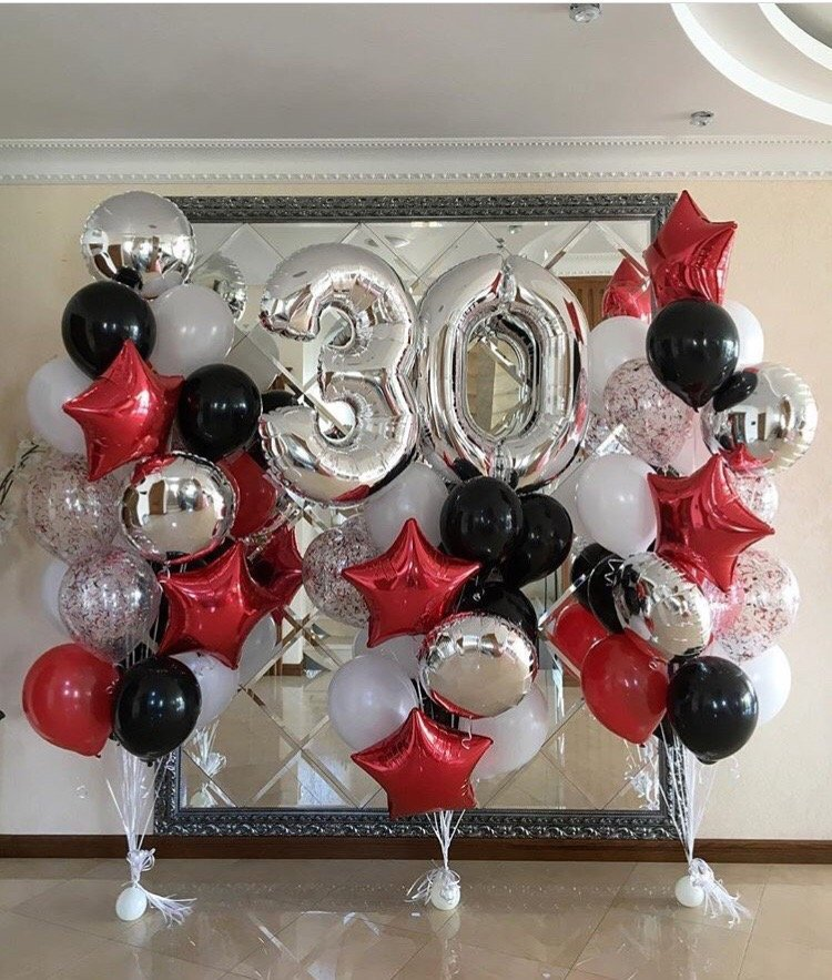 Шары на юбилей 60 лет Фонтаны из шаров с цифрами на праздник 4081.750x0.jpg