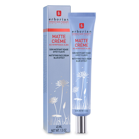 Erborian Матте ультра матирующий крем для лица Matte Cream Mattifying Face Cream Blur Effect