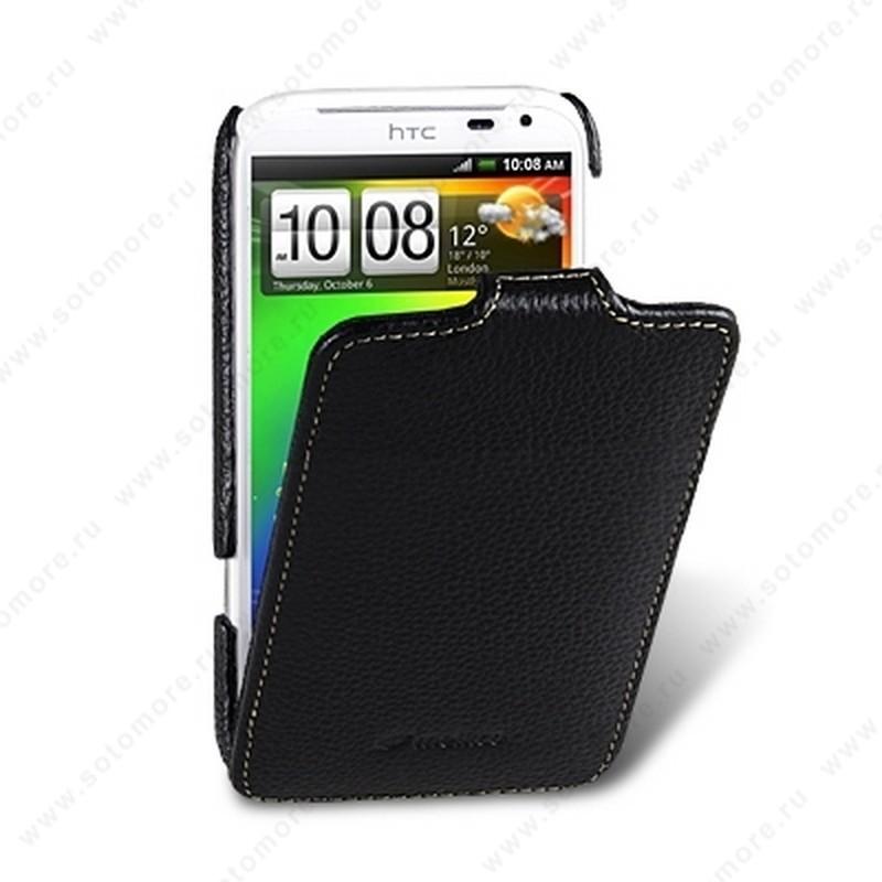 Чехол-флип Melkco для HTC Sensation XL Leather Case Jacka Type (Black LC)