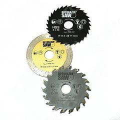 Запасные диски для пилы Роторайзер Соу (Rotorazer Saw)