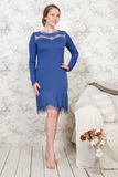Эксклюзивное домашнее платье из вискозы Valery