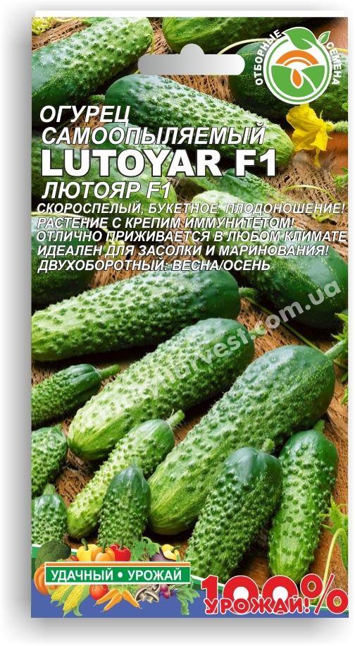 Семена самоопыляемого  огурца-корнишона
