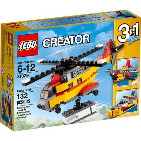 LEGO Creator: Грузовой вертолет 31029 — Cargo Heli — Лего Креатор Создатель