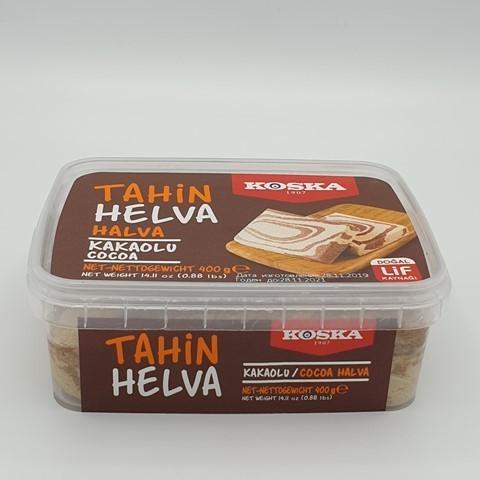 Халва кунжутная с какао KOSKA