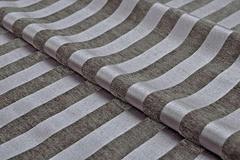 Шенилл-жаккард Moire stripe titanium (Моир страйп титаниум)