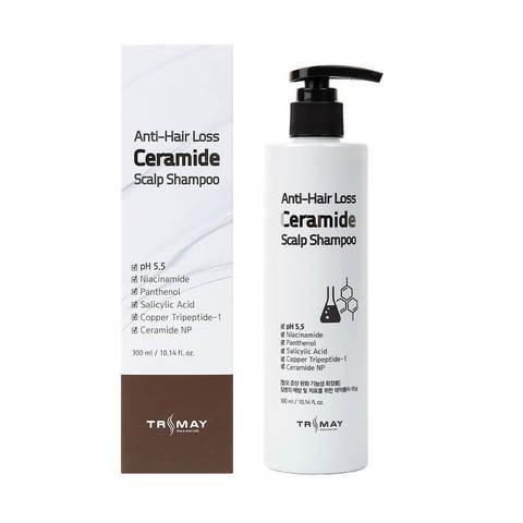 Шампунь с керамидами против выпадения волос Trimay Anti Hair Loss Ceramide Scalp Shampoo