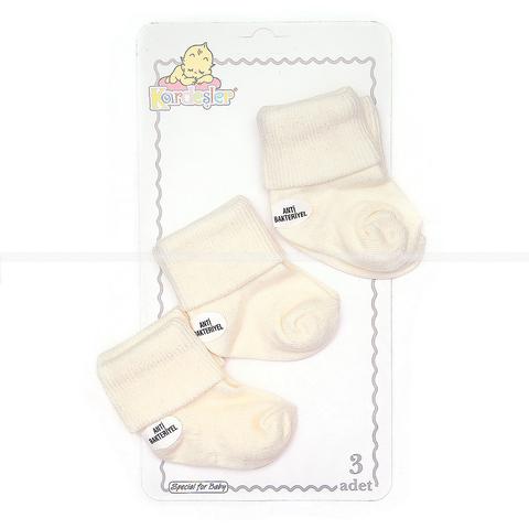 Носочки хлопок в коробке (3 шт) АП-21-129