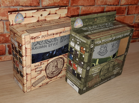 "Men's boxers VELIKOROSS ""Navy"""