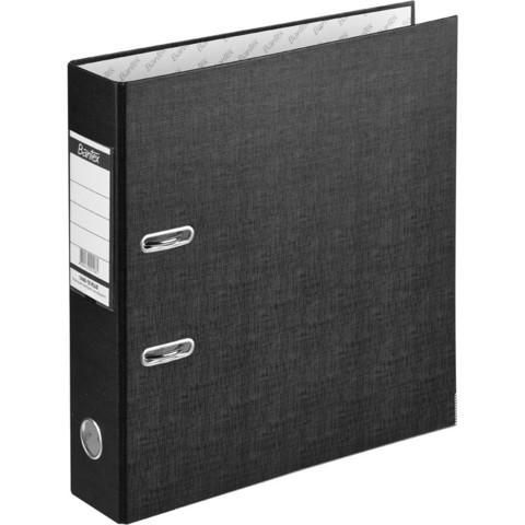 Папка с арочн.мех.BANTEX ECONOMY PLUS, 1446-10, 80мм, черный