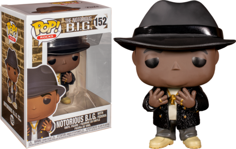 Фигурка Funko Pop! Rocks: Notorious B.I.G. with Fedora
