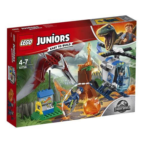 LEGO Juniors: Jurassic World — Побег птеранодона 10756 — Pteranodon Escape — Лего Джуниорс Подростки Мир юрского периода
