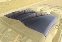 Карбоновая крыша (для Cabrio) Mansory Style 2 для Lamborghini Aventador