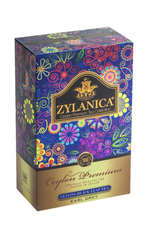 ЧАЙ ZYLANICA чёрный бергамот Ceylon Premium Collection FBOP 100 гр