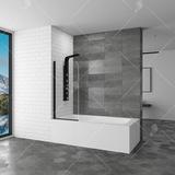 Шторка на ванну RGW SC-09 В 70х150 06110907-14 прозрачное