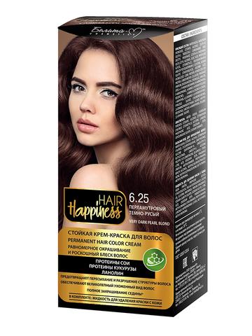 Белита-М Hair Happiness Крем-краска для волос аммиачная №6.25 перламутровый темно-русый