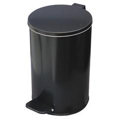 Урна стальная 10 л черная, 200 ммx 310 мм