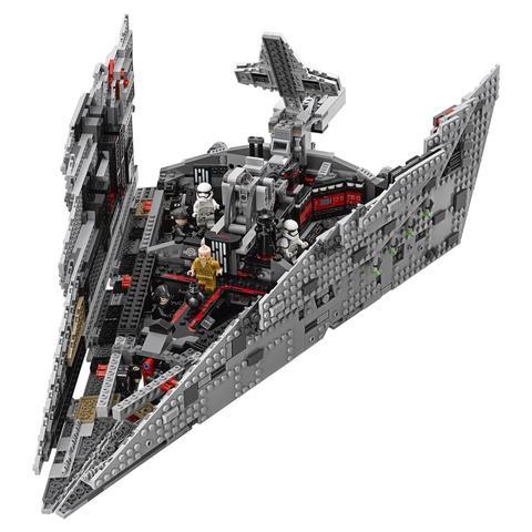 LEGO Star Wars: Звёздный разрушитель Первого Ордена 75190 — First Order Star Destroyer — Лего Звездные войны Стар Ворз