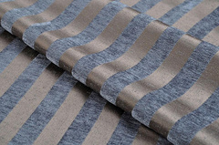 Шенилл-жаккард Moire stripe blue (Моир страйп блу)