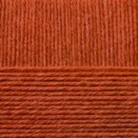 Купить Пряжа Пехорка Кроссбред Бразилии Код цвета 030-Св.Теракот | Интернет-магазин пряжи «Пряха»