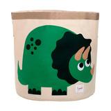 Корзина для хранения 3 Sprouts Динозавр (зелёный)