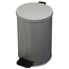 Урна стальная 10 л серый металлик,  200 ммx310 мм