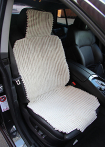 Плетеная накидка (натуральное волокно)