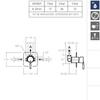 Встраиваемый смеситель для душа ATICA 751801S на 1 выход - фото №2