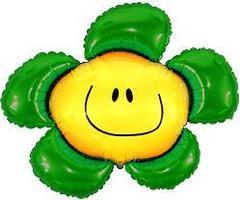 F Фигура, Цветочек (солнечная улыбка) зеленый, 41