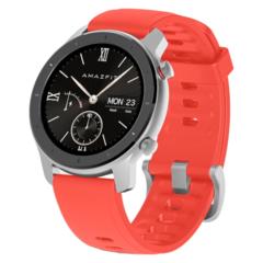 Смарт часы Xiaomi Amazfit GTR 42mm (Красный) Coral Red