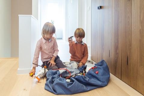 Коврик-мешок для игрушек Play&Go. Коллекция Classic. Джинсы