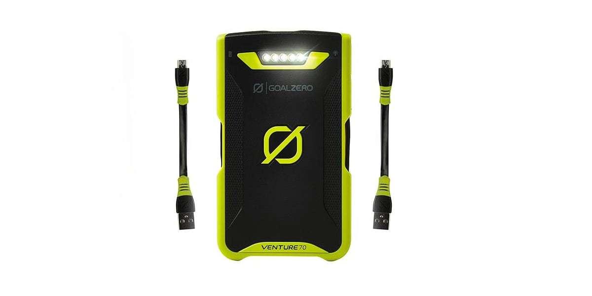 Зарядное устройство Goal Zero Venture 70 Solar Recharger кабели
