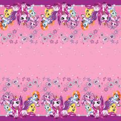 Скатерть полиэтиленовая Волшебные питомцы, 140см X 180см