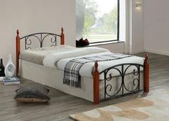 Кровать MK-5223-RO 200x180 (MK-5223-RO) Темная вишня