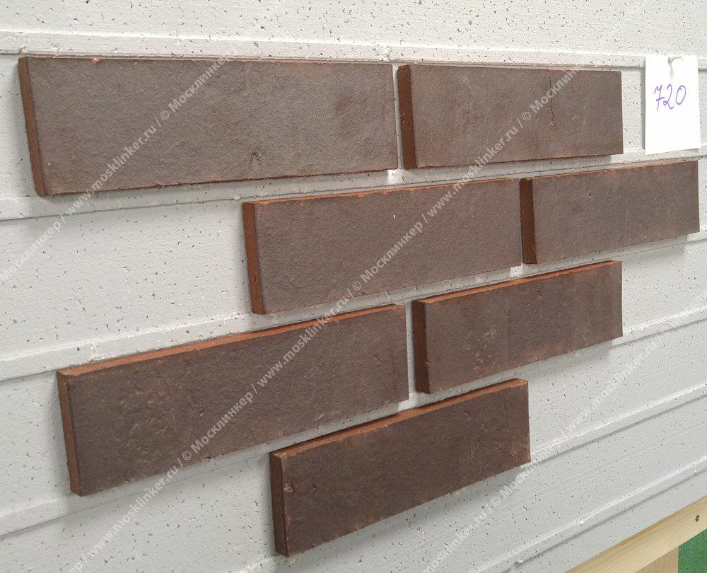 Feldhaus Klinker - R720NF14, Accudo Cerasi Ferrum, 240x14x71 - Клинкерная плитка для фасада и внутренней отделки