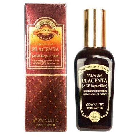 3W CLINIC Premium Placenta Age Repair Skin Антивозрастной скин для лица с ПЛАЦЕНТОЙ 150 мл