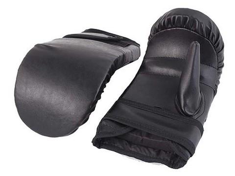 Перчатки снарядные подростковые (кож/зам) :(SM):