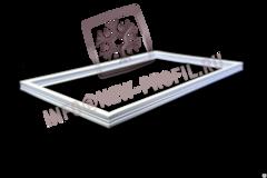 Уплотнитель для холодильника ЗиЛ 65 (морозильная камера) Размер 62*37 см Профиль 013
