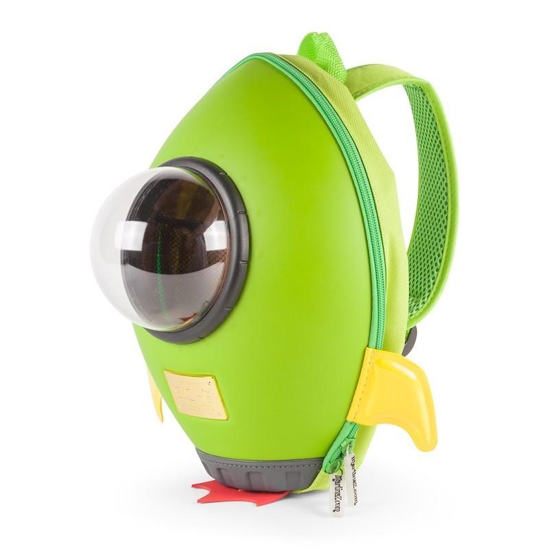 """Товары для детей Детский рюкзак Backpack (Rocket - """"Ракета""""): cohete_verde_03.jpg"""