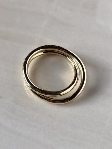 Кольцо Фода, позолота